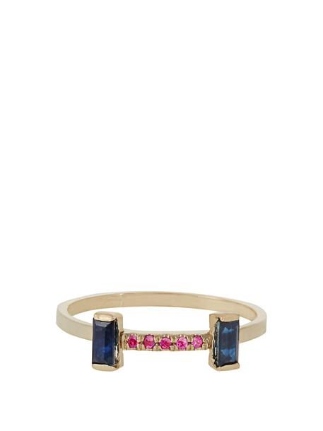 Loren Stewart ring gold ring gold yellow jewels