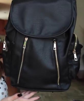 bag school bag black bag