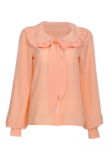 A Sense Of Wonder Necktie Blouse - Happiness Boutique