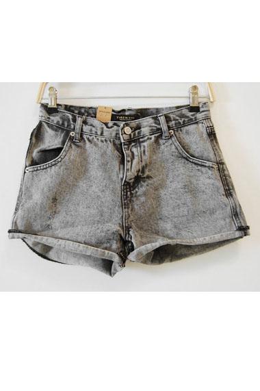Snowflake Denim Shorts [RWDKS039] - $33.25 : Romwomen!, Extremely ...