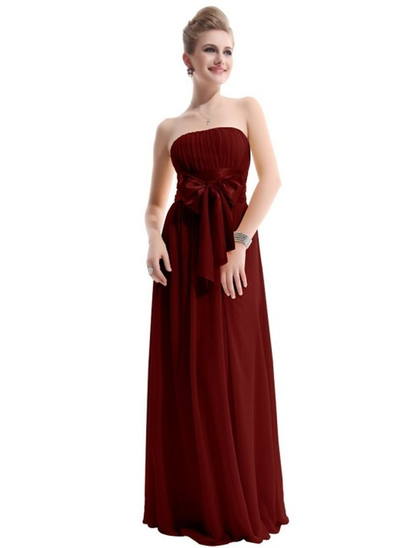 dress prom dress burgundy long dress
