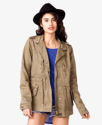 Studded utility jacket