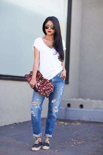 walk in wonderland top jeans bag shoes jewels