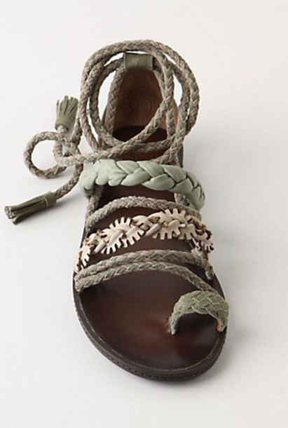 shoes sandals summer strappy cute hippie tumble flowers floral boho