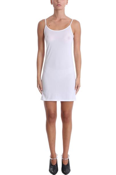 dress lingerie dress white