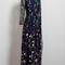 Embroidered floral mesh maxi dress   versona