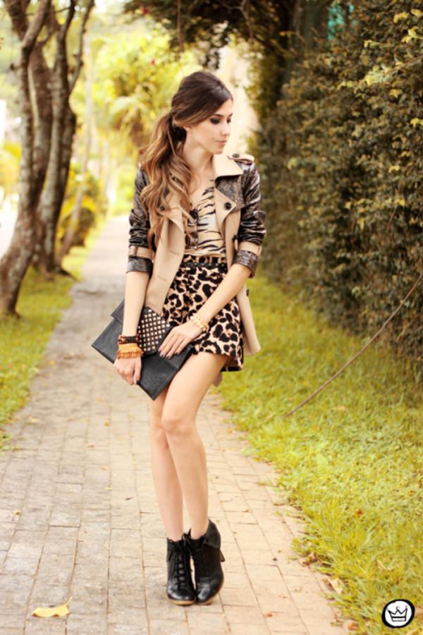 fashion coolture t-shirt skirt coat sunglasses shoes