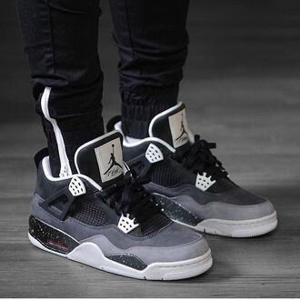shoes jordans grey sportswear basketball shoes