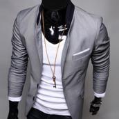 jacket,grey,blazer,tight,waist
