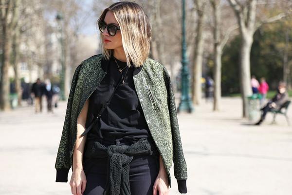 cheyenne meets chanel jacket shoes sunglasses jeans shirt bag