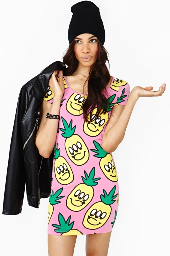 Pineapple Crush Dress  in  Clothes Sale at Nasty Gal
