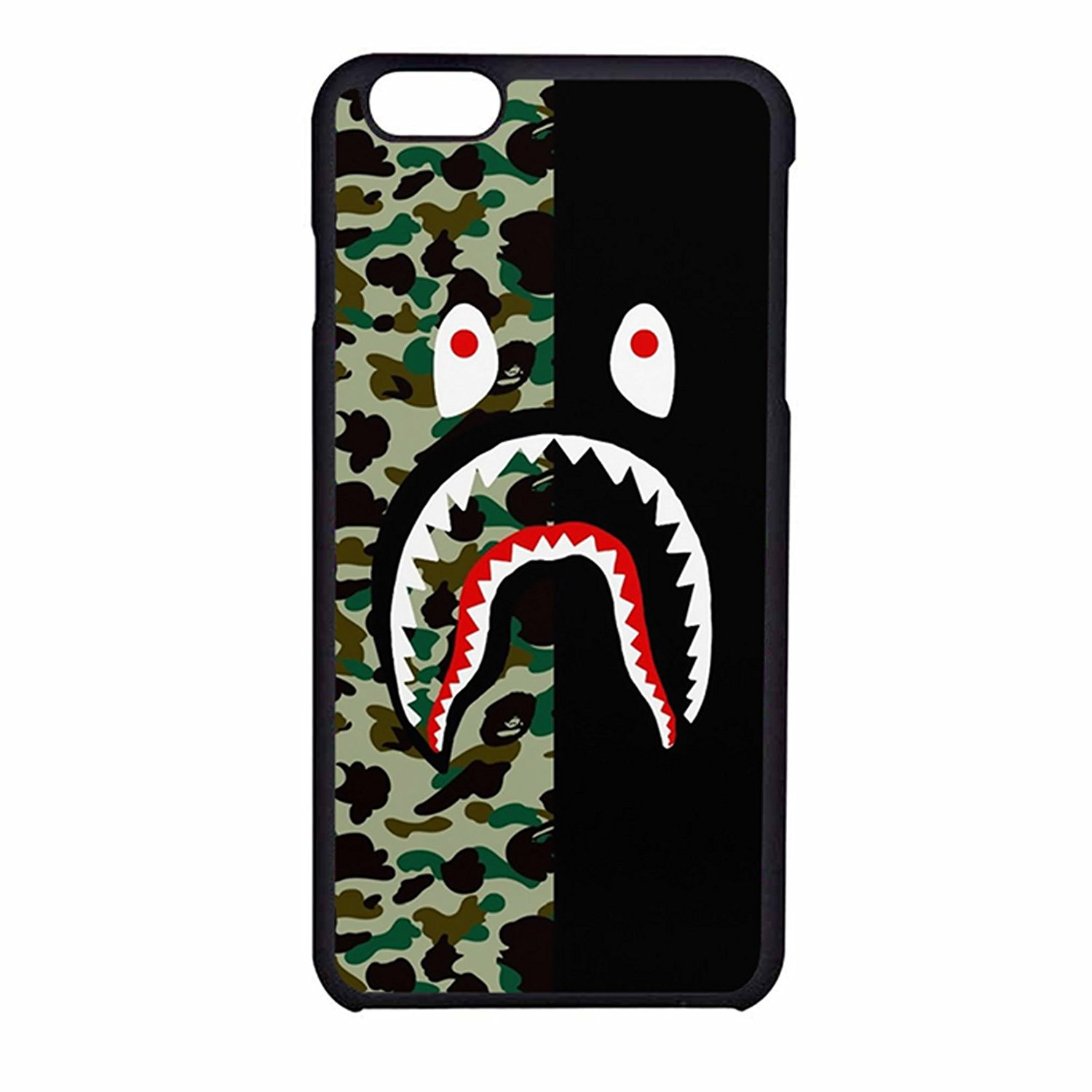 Amazon.com: Bape shark colorfull 3 Case For iPhone 7: Home & Kitchen