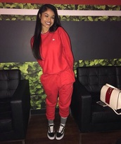 pants,red,sweatpants,red sweatpants,champion,champion sweatpants