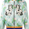 Gucci floral jacquard embroidered bomber - farfetch