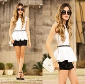 sunglasses,warehouse,blouse,bag,shoes,cute blouse,cute cloth,like,cool,cute,round sunglasses,cute skirt and blouse