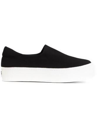 women sneakers cotton black shoes