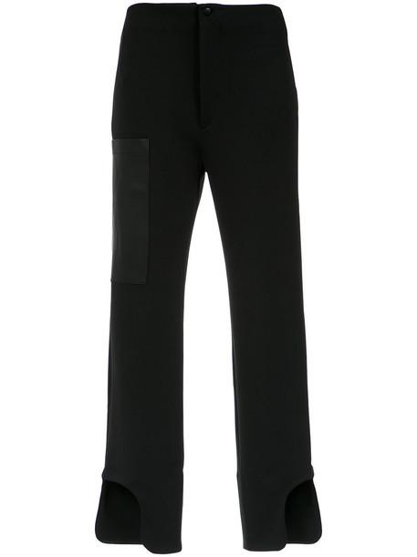 Gloria Coelho women spandex black pants