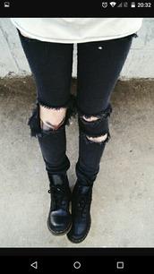 pants,black,jeans,trouserd,denim,trou,grunge,rock,teenagers,ripped,ripped jeans,torn,punk