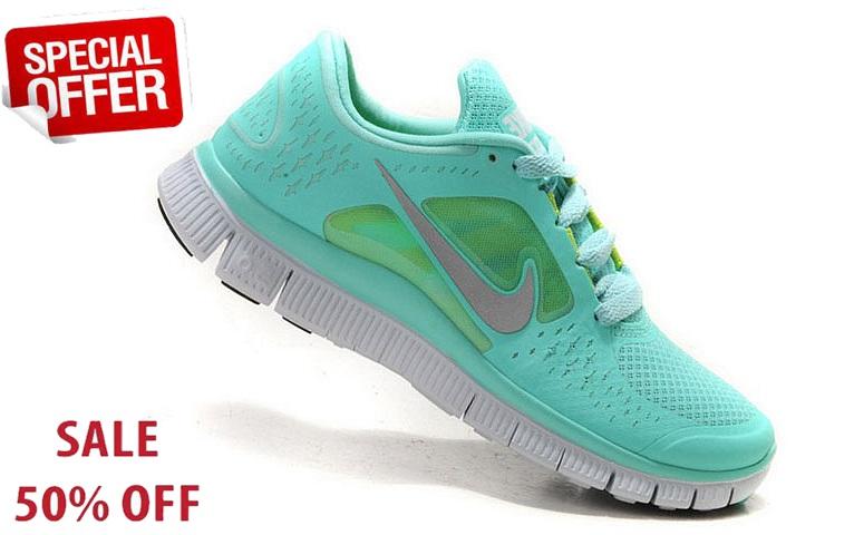 Fe838b Nike Free Run 3.0 Womens Mint Green Nikes Discount Nike Free Runs Mint Green