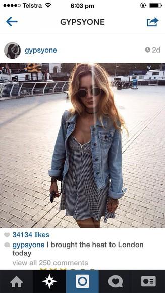 jacket button up stripe instagram denim chambray denim jacket