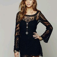 Cute hot lace dress · tourtown · online store powered by storenvy