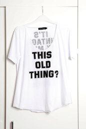 shirt,vintage,chipchop,scoop neck