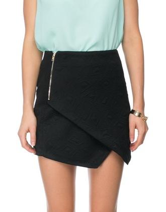 skirt zip shorts asymmetrical asymmetrical skirt asymmetrical hem black asymmetrical skirt black black shoes black shorts something like this i want this front zippers zipper skirt cute cute skirt