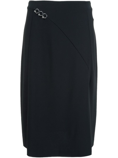 MUGLER skirt black