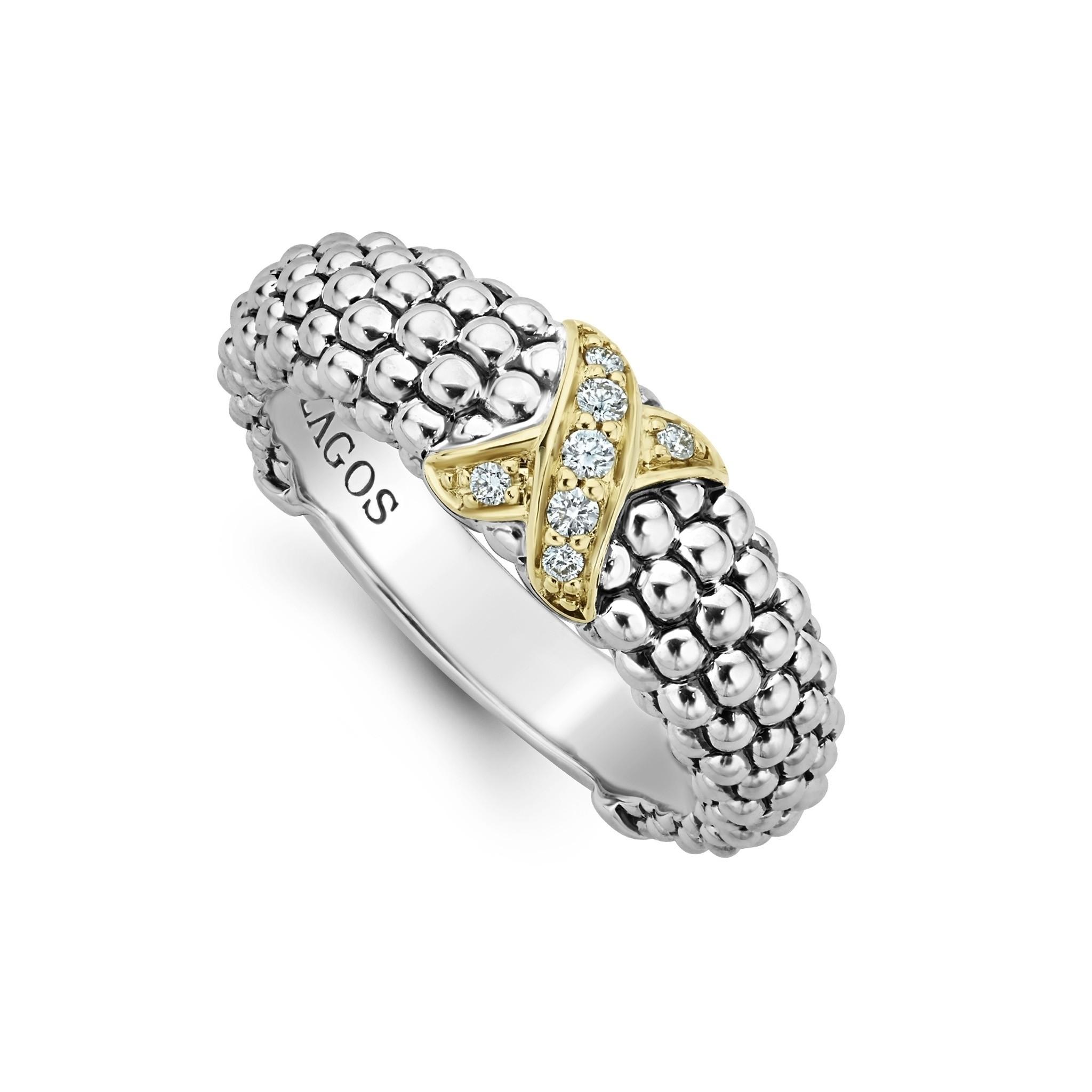 X Ring | Caviar Lux | LAGOS Jewelry