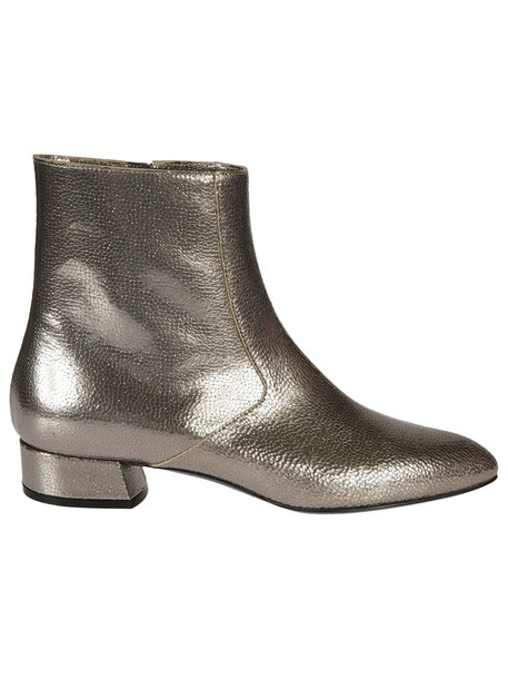 CASADEI heel ankle boots metallic shoes