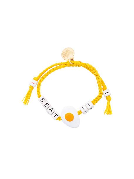 Venessa Arizaga women yellow orange jewels