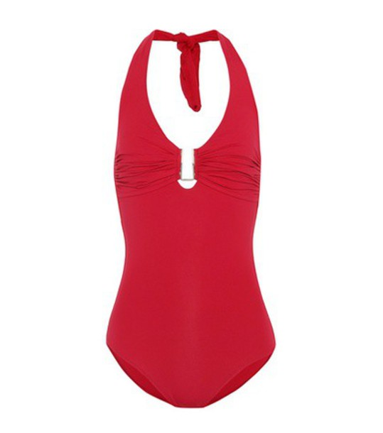 Melissa Odabash red swimwear