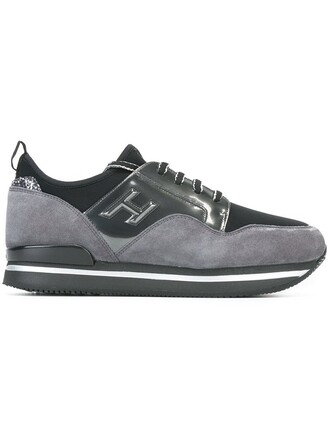 chunky sole sneakers grey shoes