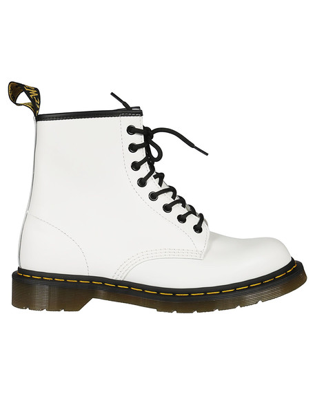 Dr. Martens Dr Martens 1460 Smooth Lace-up Boots in white