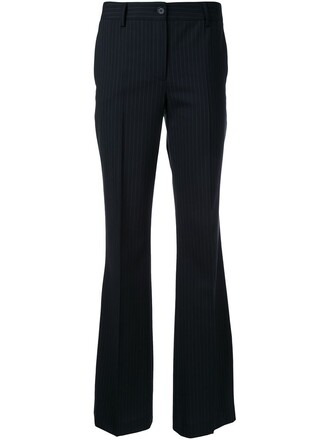 women spandex black wool pants