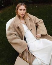 dress,blogger,blogger style,coat,pernille teisbaek,instagram