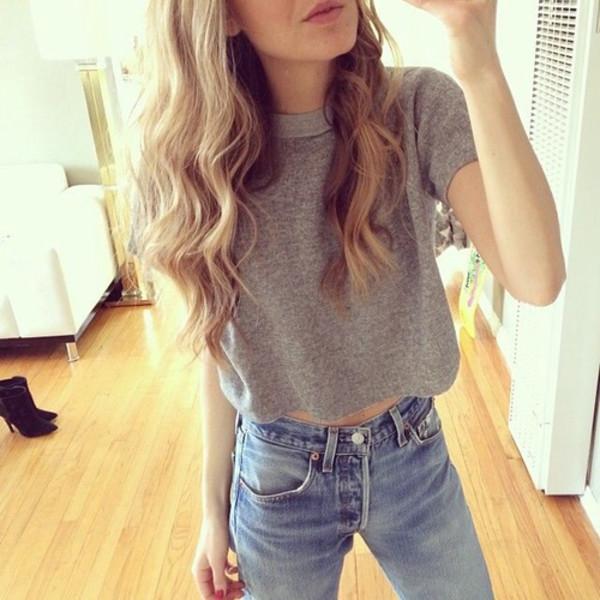 t-shirt grey grey t-shirt