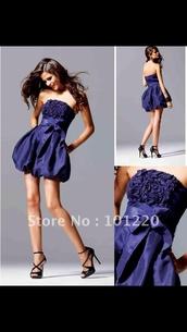 dress,blue,purple,prom,prom dress,short