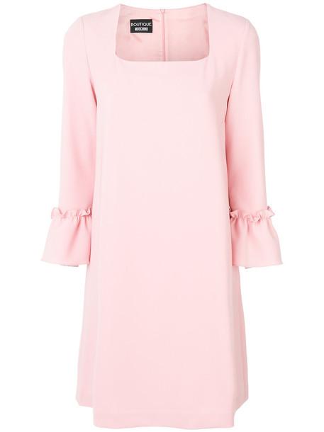 BOUTIQUE MOSCHINO dress women purple pink