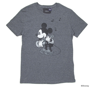 cartoon casual print rehacer x disney 7th anniversary mickey mouse tees grey t-shirt white t-shirt yellow t-shirt