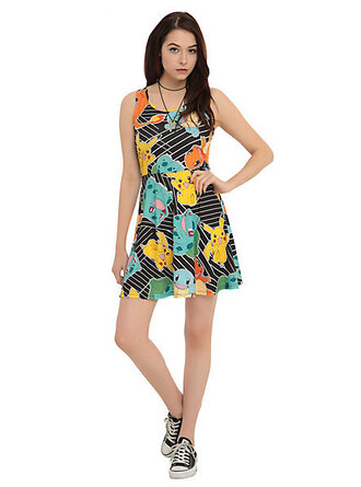 dress pokemon summer dress casual