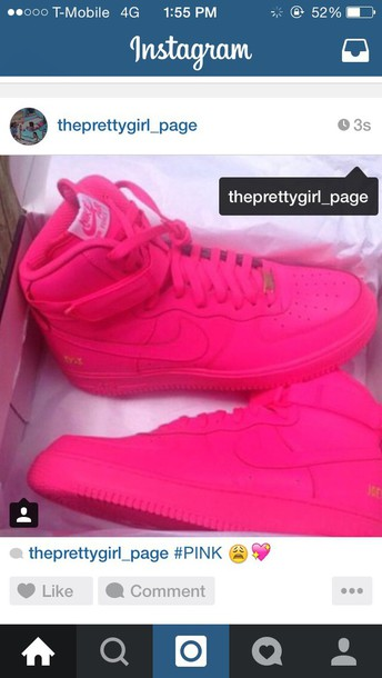 shoes pink nike high tops nike shoes dope pretty socks