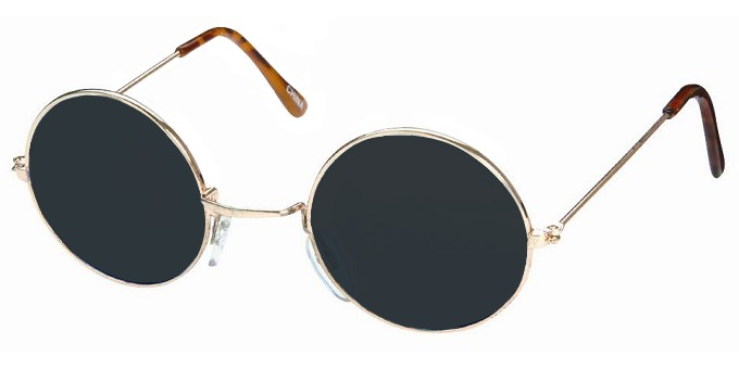 Jamie Fox Django Unchained Round Sunglasses; Django Sunglasses