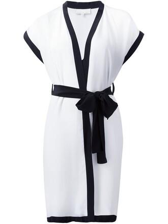 kimono short white top