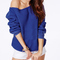 Krista one shoulder blue sweater · fashion struck · online store powered by storenvy