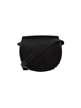 mini infinity bag chain bag black