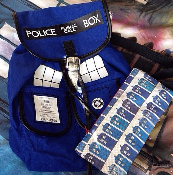 bag backpack doctor who