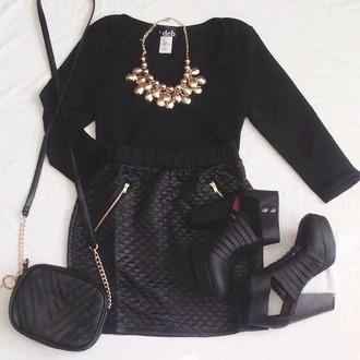 shoes heels black