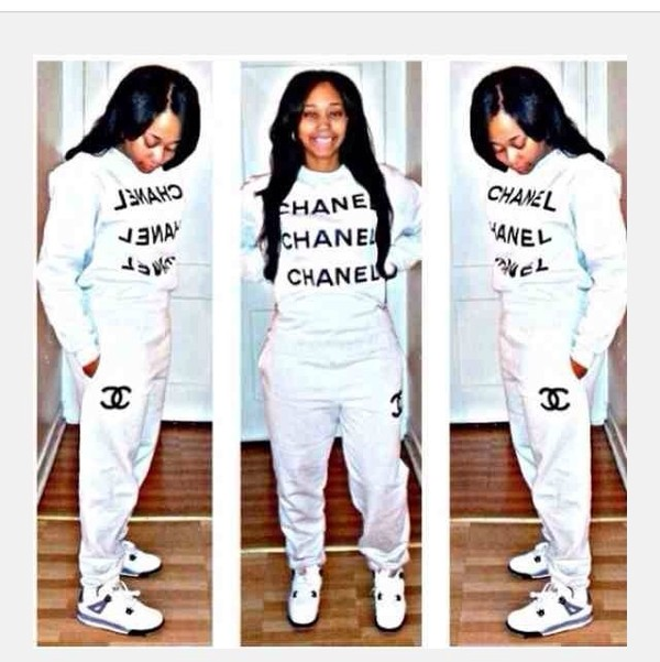 Chanel Sweat Suits For Women