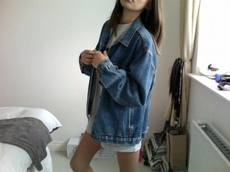 jacket denim jacket denim fashion 90s style